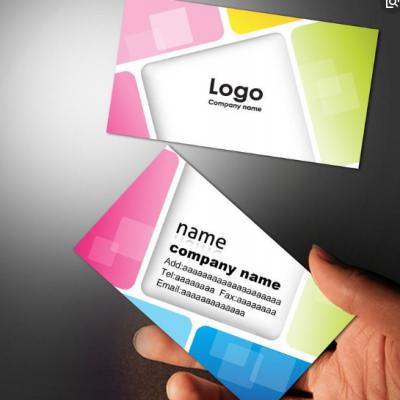 彩印名片印刷的要求和设计注意事项